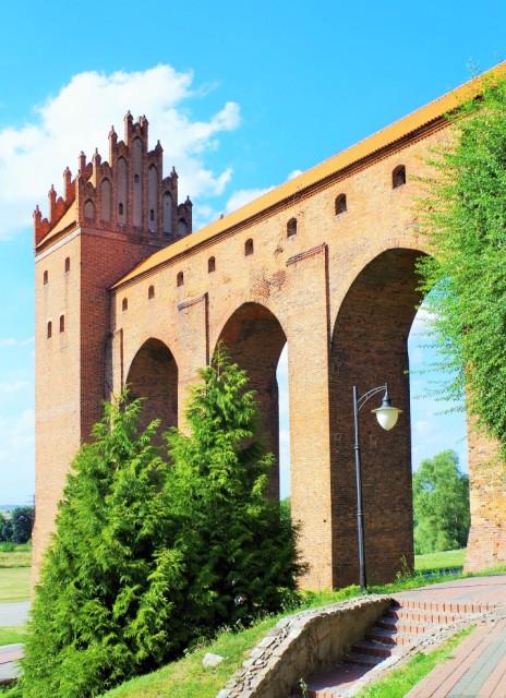 Gdanisko na zamku krzyżackim w Kwidzynie