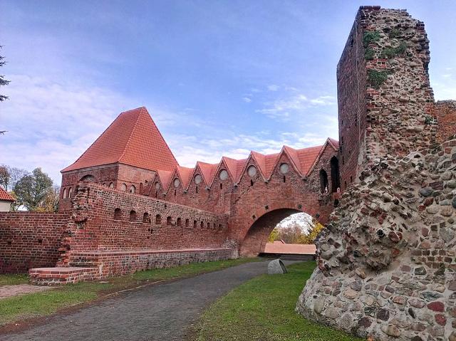 Zamek krzyżacki wToruniu