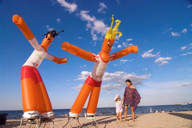 Sopot - na plaży. Wycieczki szkolne – Hit The Road Travel