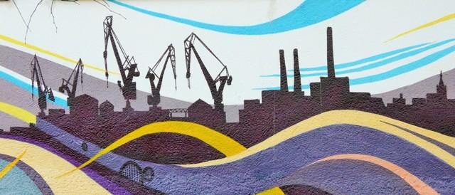 Murales naosiedlu Zaspa. Wycieczka Gdańsk – Hit The Road Travel