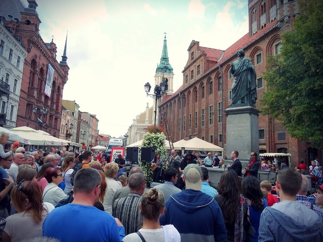 Pomnik Kopernika w Toruniu