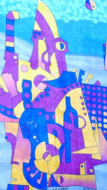 Jonas Zagorskas, Mural na tysiąclecie Gdańska. Wycieczka Gdańsk – Hit The Road Travel