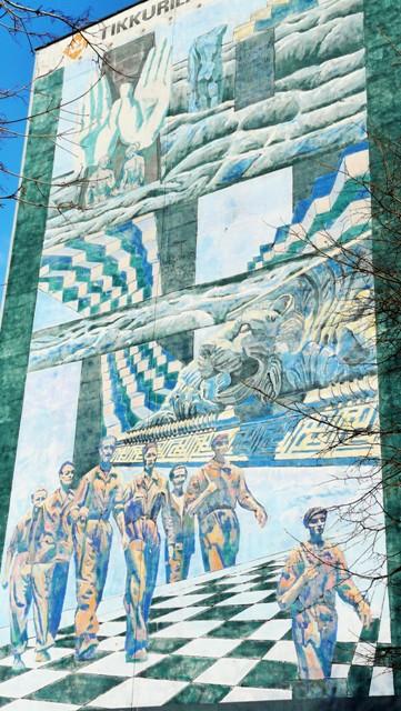 Donatas Pirstelis, Mural natysiąclecie Gdańska. Wycieczka Gdańsk – Hit The Road Travel