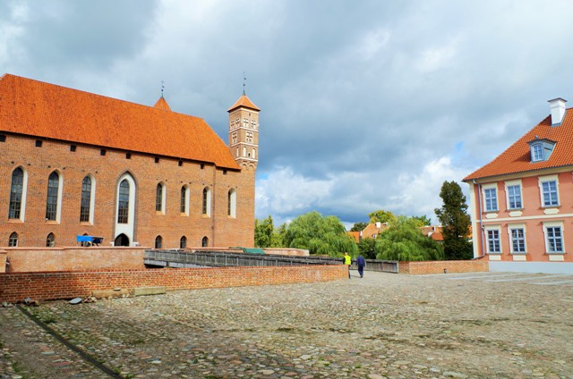 Zamek biskupów warmińskich wLidzbarku Warmińskim