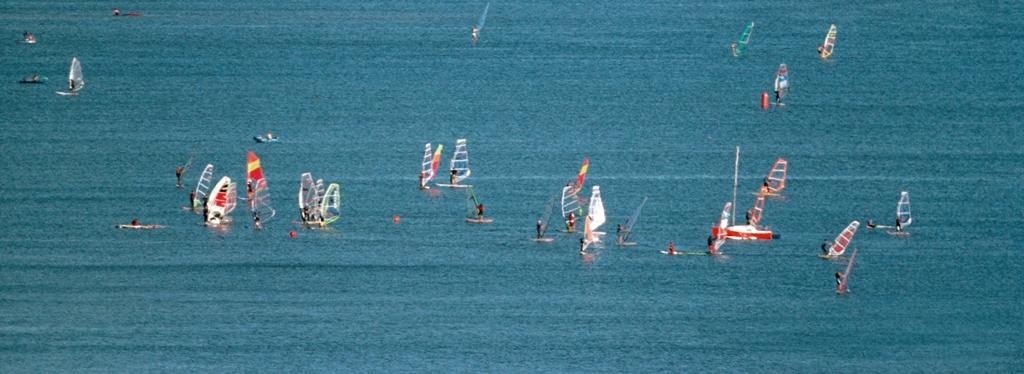 Windsurferzy na Zatoce Puckiej. Wycieczki dla aktywnych, wycieczki sportowe – Hit The Road Travel