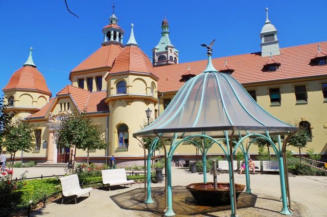 Sopot, Plac Zdrojowy, grzybek kuracyjny