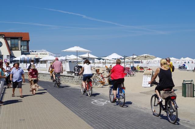 Sopot - ścieżka rowerowa wzdłuż plaży. Wycieczki rowerowe – Hit The Road Travel