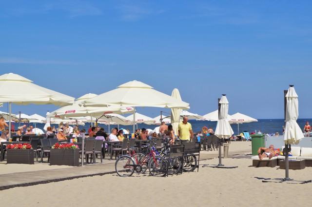 Plaża w Sopocie. Wycieczki rowerowe – Hit The Road Travel