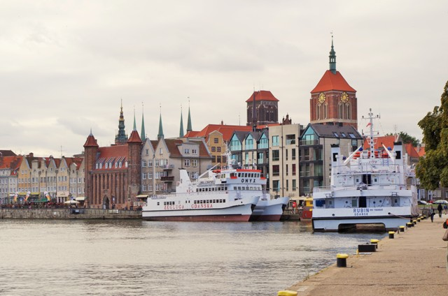 Gdańsk, Długie Pobrzeże, Motława