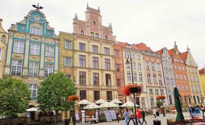 Gdańsk - Długi Targ, strona południowa. Wycieczka objazdowa – Hit The Road Travel