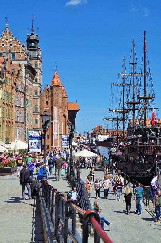 Gdańsk - Długie Pobrzeże. Gdańsk wycieczka z przewodnikiem – Hit The Road Travel
