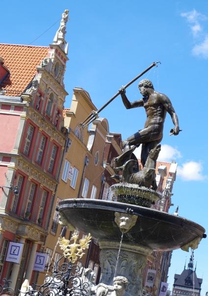 Gdańsk, Fontanna Neptuna