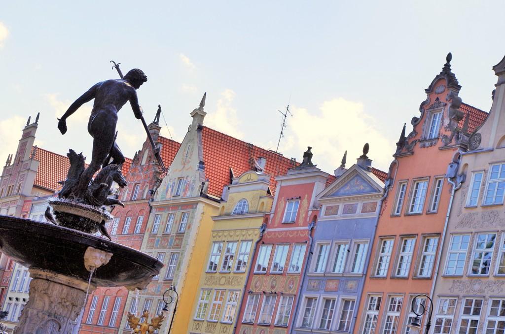 Fontanna Neptuna wGdańsku. Gdańsk wycieczka zprzewodnikiem – Hit The Road Travel