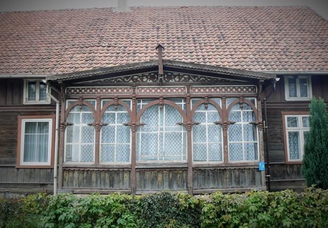 Żuławska architektura drewniana.