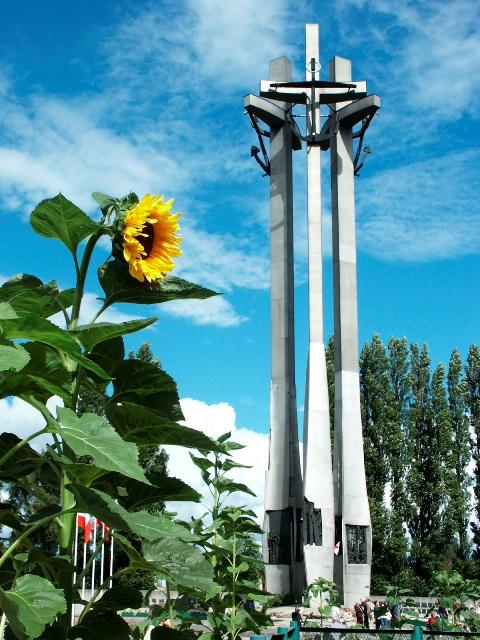 Pomnik Poległych Stoczniowców 1970. Wycieczki po Gdańsku zabytkowym tramwajem – Hit The Road Travel