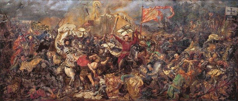 "Jan Matejko ""Bitwa podGrunwaldem"""
