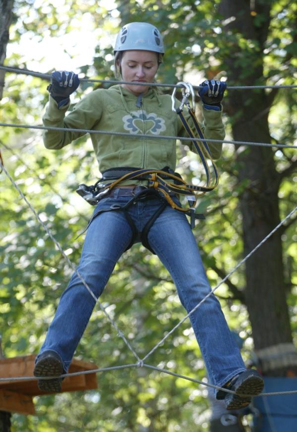 Park linowy, Gdynia Kolibki. Wycieczki szkolne – Hit The Road Travel