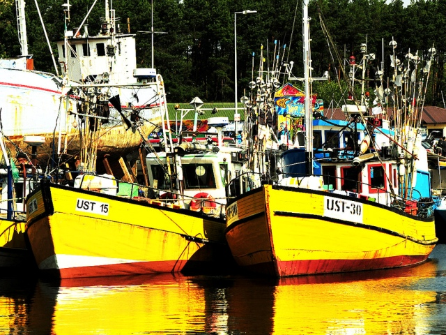 Port rybacki w Ustce. Wycieczki pomorskim szlakiem pielgrzymek do Santiago De Compostela – Hit The Road Travel