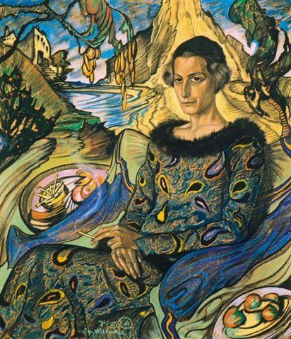 Stanisław Ignacy Witkiewicz Witkacy, portret Marii Nawrockiej. Wycieczki doSopotu – Hit The Road Travel