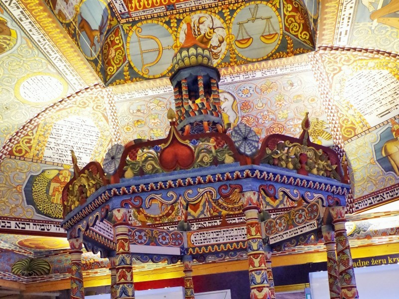 Muzeum Polin - rekonstrukcja synagogi wGwóźdźcu. Wycieczka doWarszawy. Hit The Road Travel